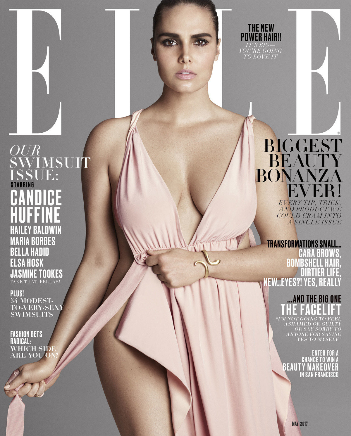 Elle may candice huffine cover 1200 xxx q85